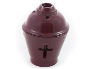 Ceramic Vigil Oil Lamp Pot-shaped