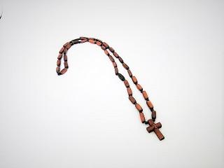 Σταυρός Λαιμού Ξύλινος, με ξύλινη αλυσίδα