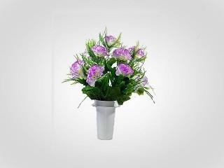 Λουλούδι Πλαστικό. σε Γλαστράκι Νο 155