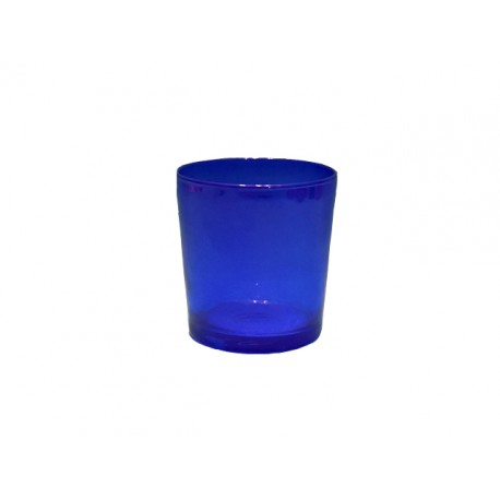 GLASS CUP FOR OIL CANDLES   ( BIG)